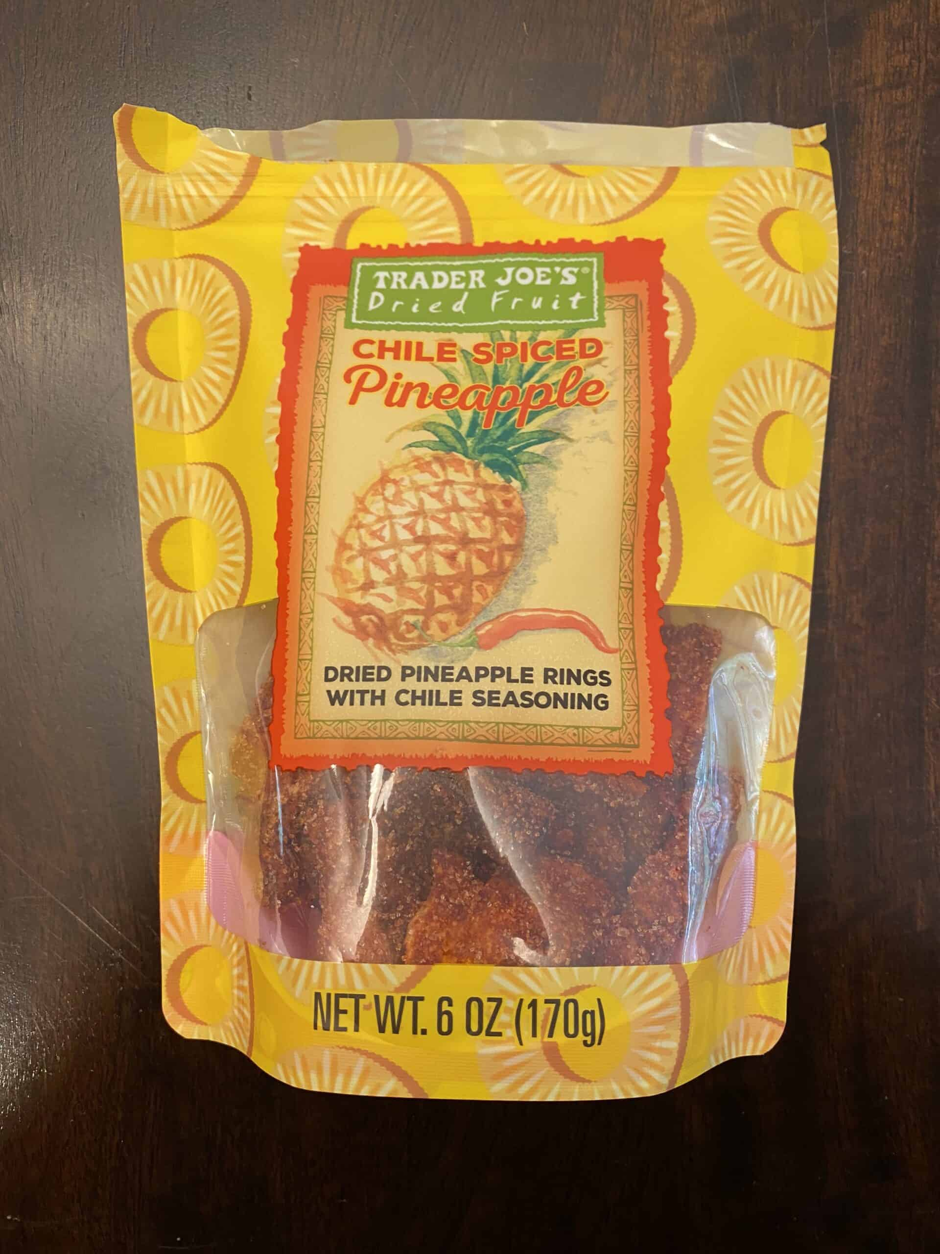 Trader Joe's Chile Spiced Pineapple (NEW ITEM!!!)
